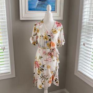 Gorgeous Loft Summer Wrap Dress